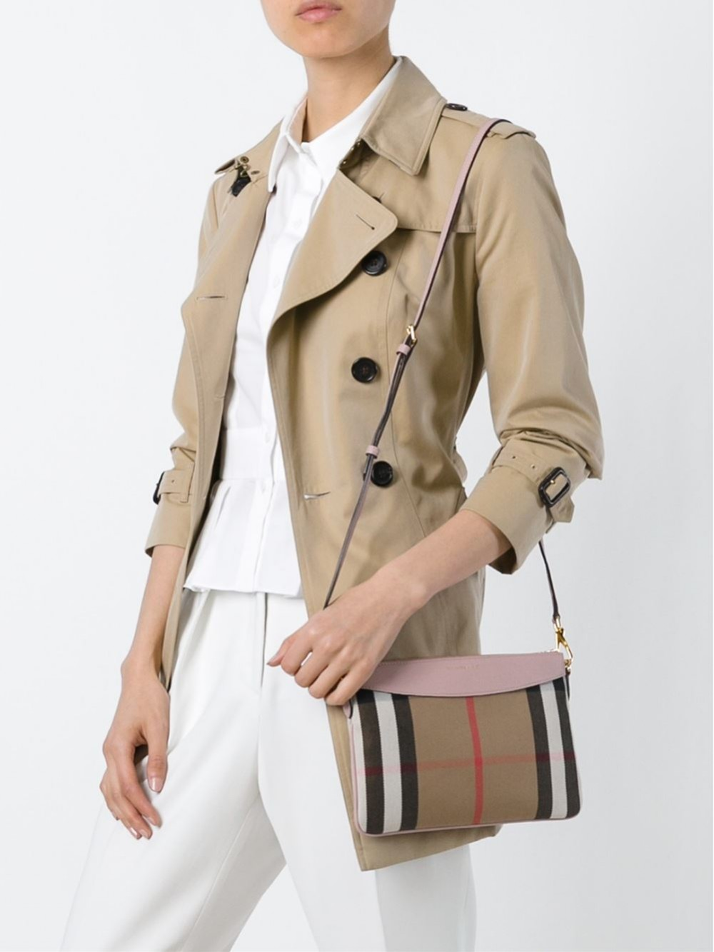 Burberry House Check Crossbody Bag | 3996884