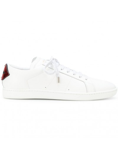 Saint Laurent Contrast Lips Sneakers | 485275 EXV60 6547