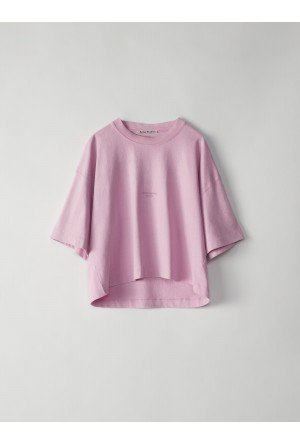 ACNE Cylea T-shirt 15A176 Candy Pink
