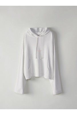 ACNE Joghy Hoodies 1HF176 Optic White