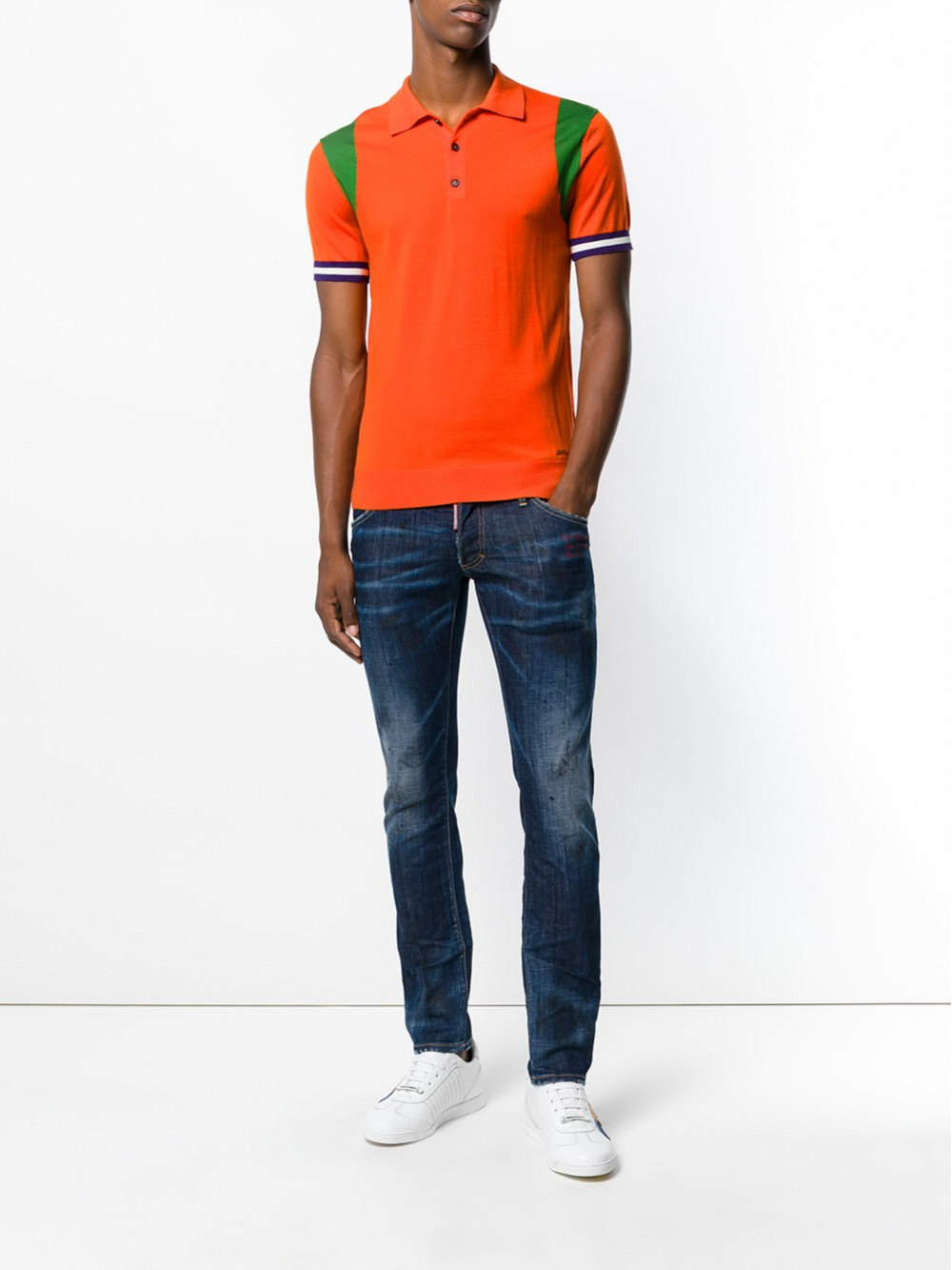 Dsquared2 Knitted Polo S74HA0855S14586 965