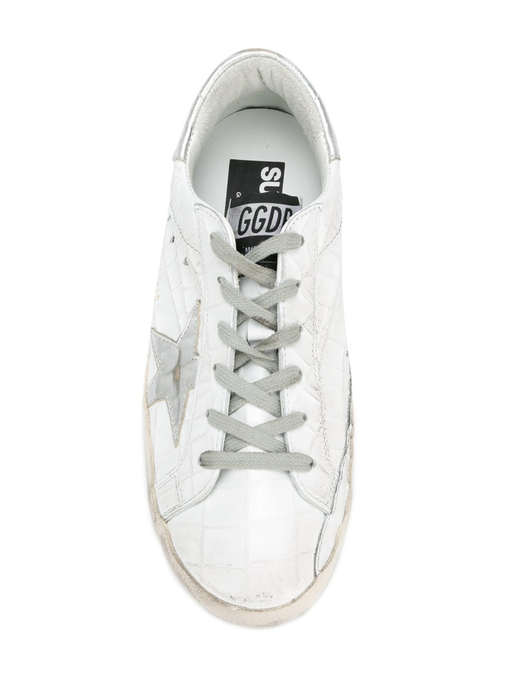 Golden Goose Deluxe Brand Superstar Distressed Sneakers