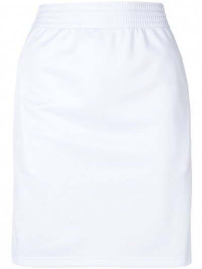 Givenchy Off White Track Mini Skirt BW400N300P 100