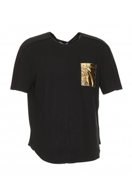 Versace Collection Pocket Gold T-shirt V800817A VJ00180 V1008
