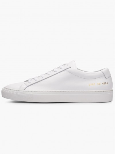 Common Projects Men Original Achilles Low 3701 0506 (WHT)#118