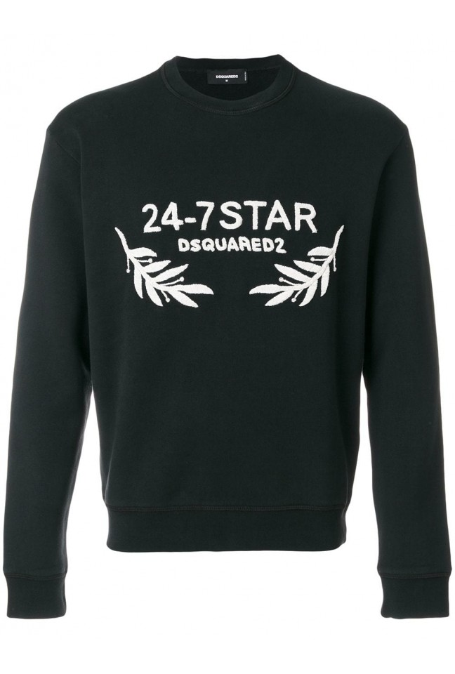 Dsquared2 Logo Embroidered Sweatshirt 74GU022125030 985
