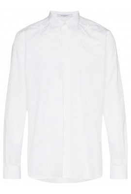 Givenchy STAR Embroidered Cottton Shirt BM601C 1Y39 100