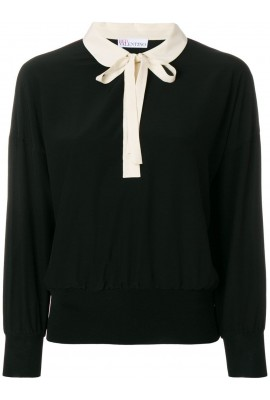 Red Valentino Black Top PR3AB1K52MJ 0NO #131