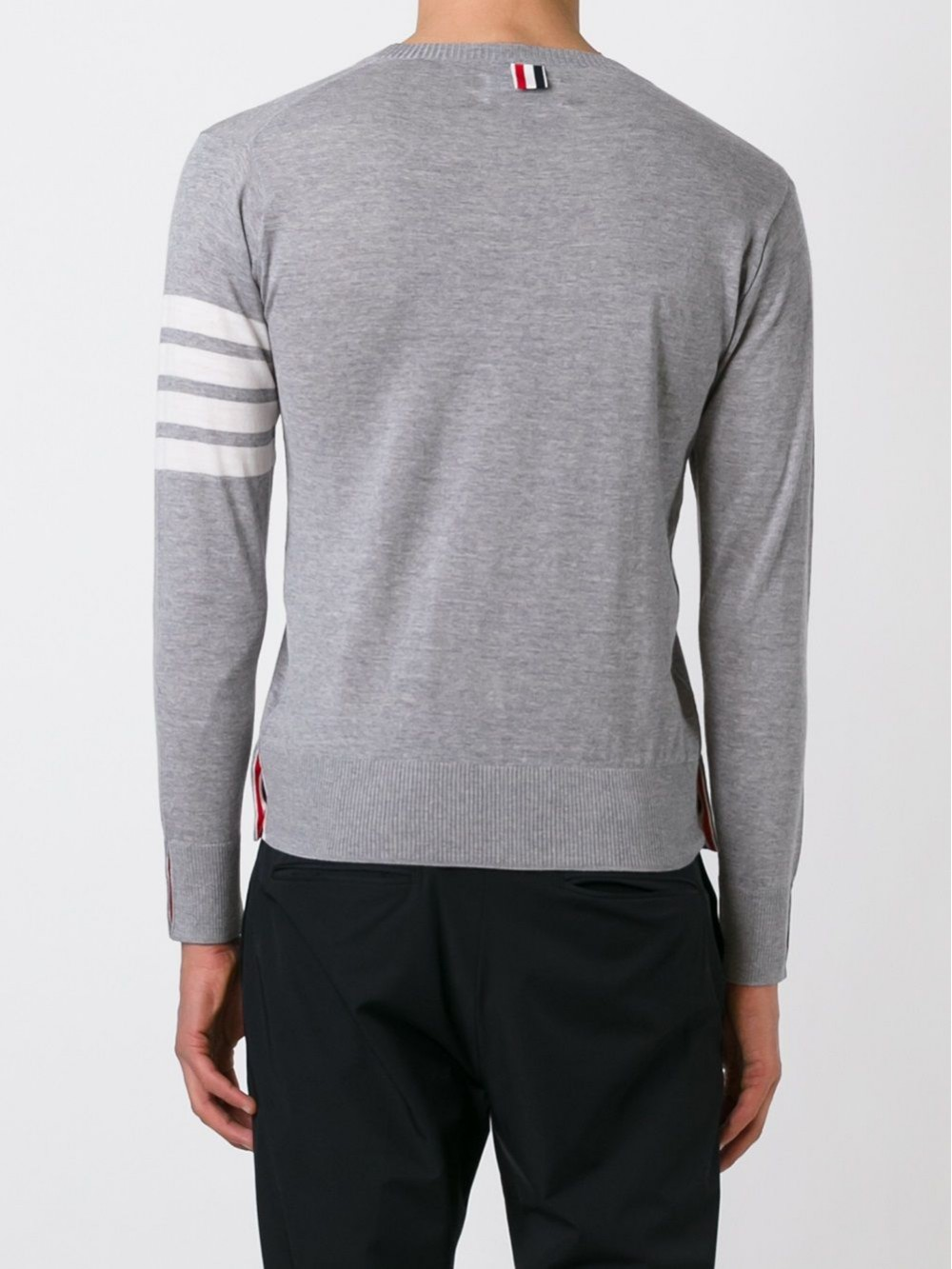 Thom Browne 4Stripe Wool Sweater
