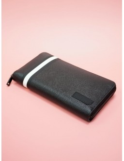 BALLY BLACK LEATHER WALLET 6224353 #34