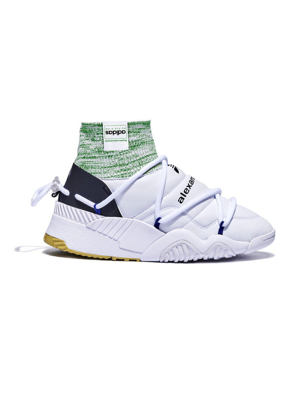 sports shoes 44210 e7e9d Adidas x AW Puff White Sneakers $364