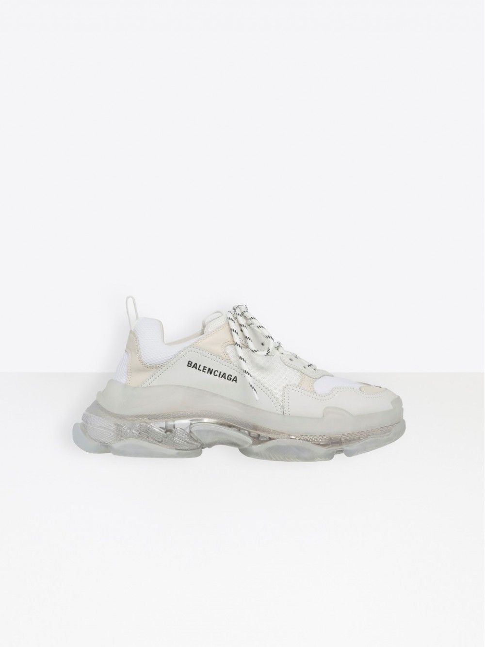Balenciaga All White Triple S Sneakers 541624W09E1 9000