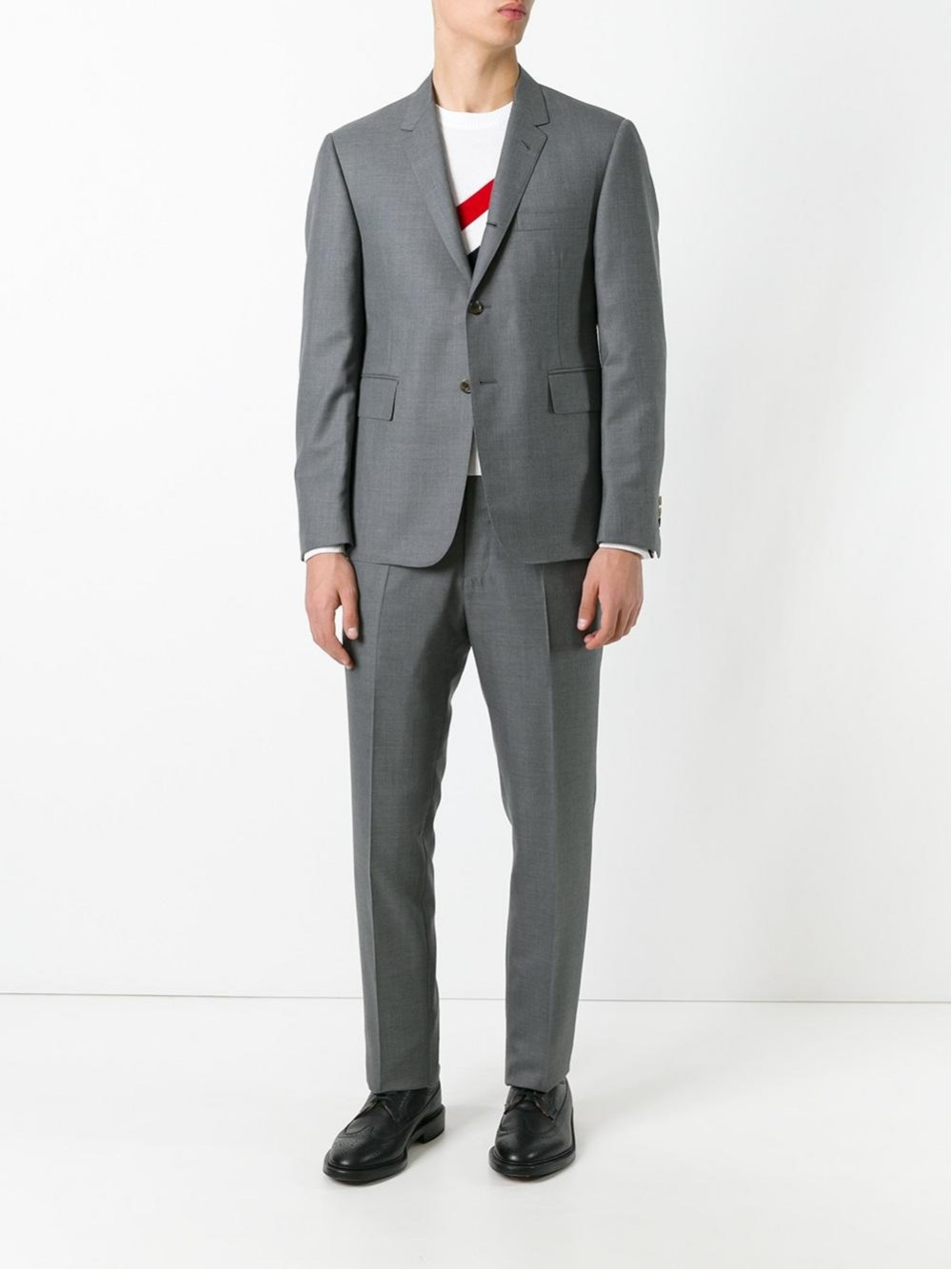 THOM BROWNE Two Piece Suit MSC001A00626-035